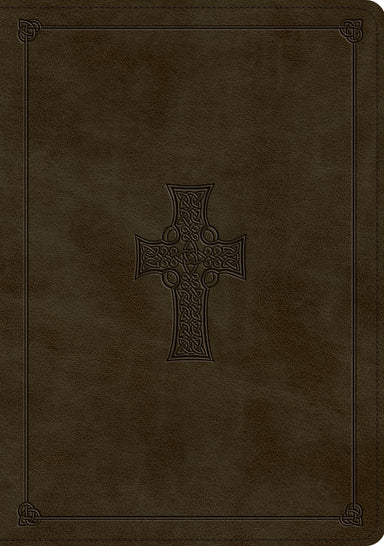 Image of ESV Study Bible (TruTone, Olive, Celtic Cross Design) other