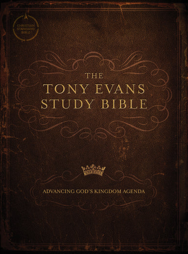 Image of CSB Tony Evans Study Bible, Hardcover other