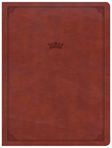 Image of CSB Tony Evans Study Bible, British Tan LeatherTouch, Indexed other