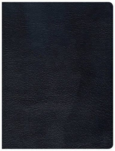 Image of CSB Tony Evans Study Bible, Black Genuine Leather other