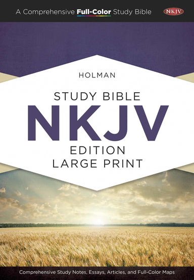 Image of Holman Study Bible: NKJV Large Print Edition, Hardcover other