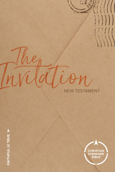 Image of CSB The Invitation New Testament, Brown, Paperback, Outreach, Salvation Plan, Footnotes other