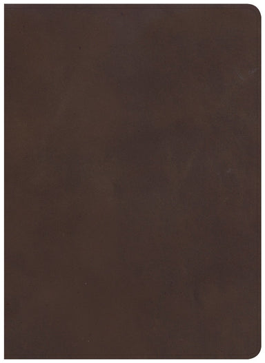 Image of CSB Study Bible, Brown Genuine Leather other