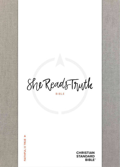 Image of CSB She Reads Truth Bible, Gray Linen other