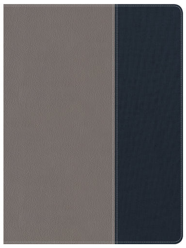 Image of CSB Apologetics Study Bible For Students, Gray/Navy Leather other