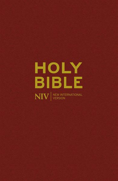 Image of NIV Anglicised  Bible, Burgundy, Hardback, Lists of Key People, List of Event, Maps other