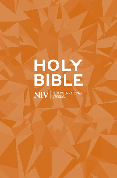 Image of NIV Popular Bible: Orange, Paperback other