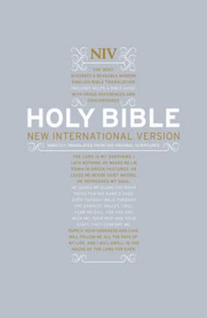 Image of NIV Popular Bible with Cross-references other