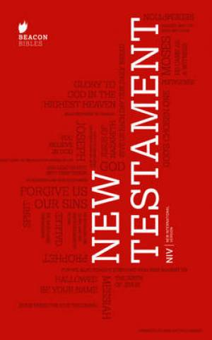 Image of NIV New Testament Outreach Edition, Red, Paperback other