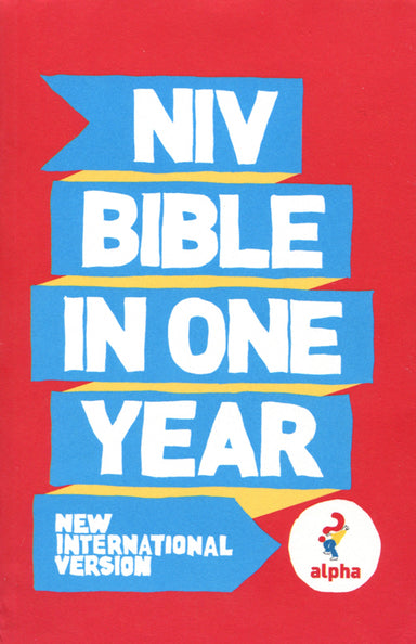 Image of NIV Alpha Bible in One Year: Paperback other