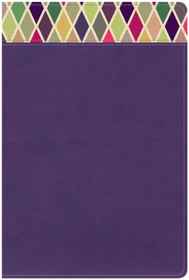 Image of CSB Rainbow Study Bible, Purple LeatherTouch other