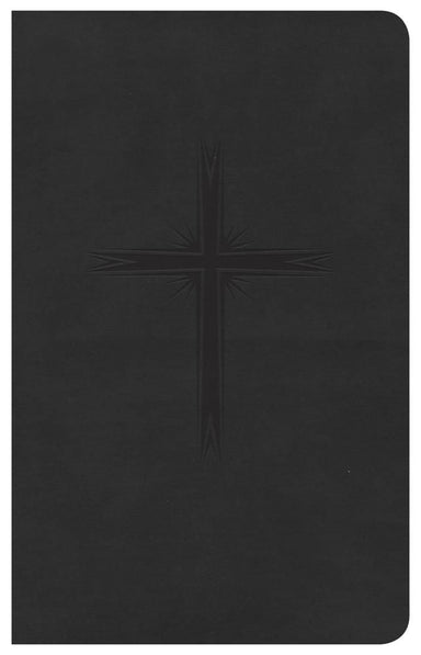 Image of CSB Pocket Bible, Charcoal, Imitiation Leather, Gift, Slipcase, Presentation Page, Red Letter, Topical Page Headings, Concordance, Colour Maps, Ribbon Marker other