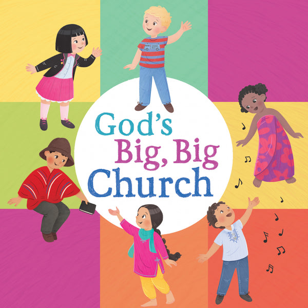 Image of God's Big, Big Church (board book) other
