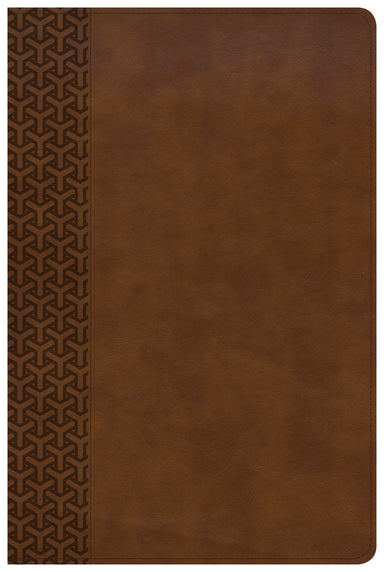 Image of CSB Everyday Study Bible, British Tan LeatherTouch other