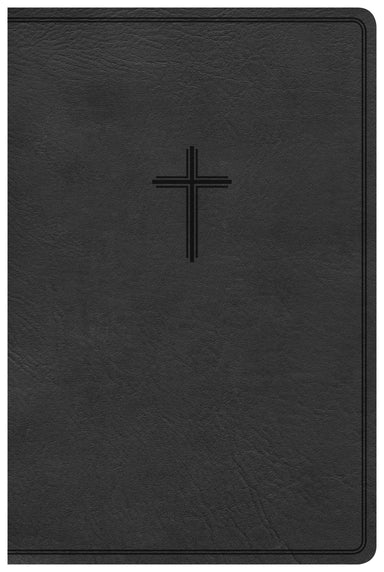 Image of CSB Everyday Study Bible, Charcoal, Imitation Leather, Maps, Concordance, Presentation Page, Ribbon Marker other