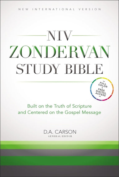 Image of NIV Zondervan Study Bible, Hardback, Illustrated, Cross-References, Maps, Charts, Study-Notes, Concordance other