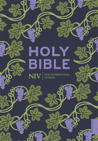 Image of NIV Holy Bible, Purple, Paperback, Hodder Classic Design, Reading Plan, Anglicized Text, Topics Guide other