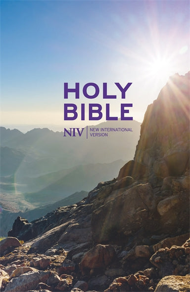 Image of NIV Thinline Value Bible, Purple, Hardback, Easy-to-Read Layout, Shortcuts to Key Stories, Reading Plan, Table of Weights and Measures, Quick Links, Concordance other