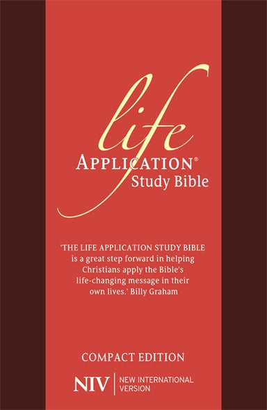 Image of NIV Compact Life Application Study Bible (Anglicised) other