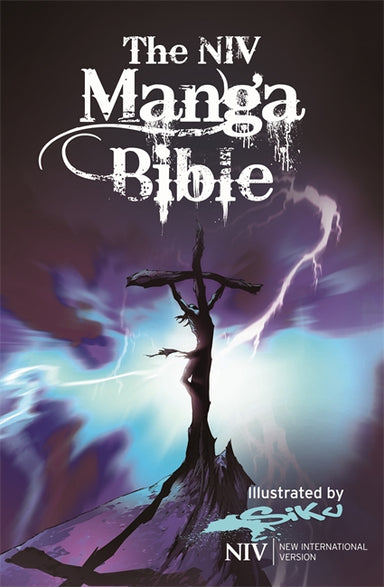 Image of NIV Manga Bible, Hardback, 64 Illustrated Pages, 9th Text Size, UK Spelling & Grammar other