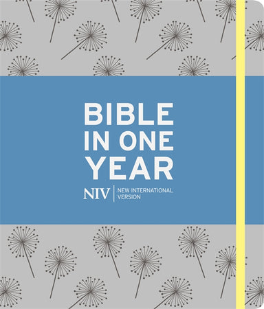Image of NIV Journalling Bible In One Year, Grey, Hardback, Large Margins other