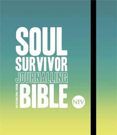 Image of NIV Soul Survivor Journalling Bible, Green, Hardback, Wide Margins, Colour in Verses, Verse-Mapping Pages, Activities, 30 Bible Studies other