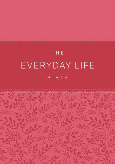 Image of The Everyday Life Bible: The Power of God's Word for Everyday Living other