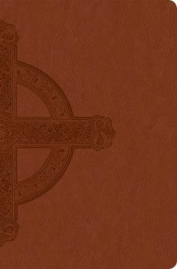 Image of NLT Large Print, Bible, Brown, Imitation Leather, Slimline, Premium Value Range, Gilt Edge, Ribbon Marker, Maps, Presentation Page, Sewn Binding other