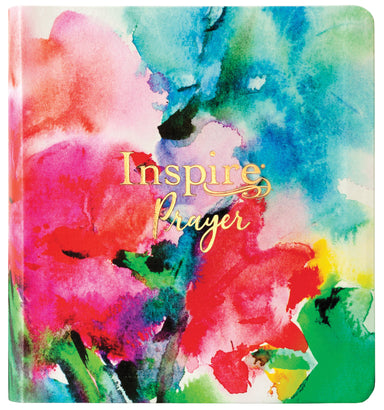 Image of Inspire PRAYER Bible NLT, LeatherLike, Joyful Colors with Gold Foil Accents, Wide Margins, Illustrated, Journaling, Gold Page Edges other