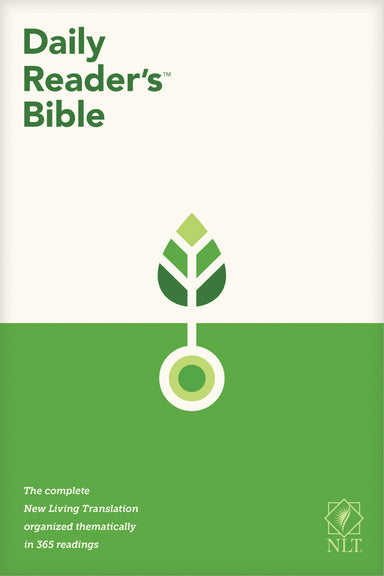 Image of NLT Daily Reader's Bible (Red Letter, Softcover) other