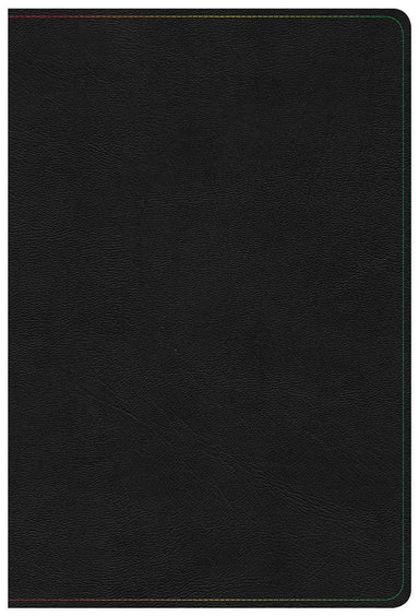 Image of KJV Rainbow Study Bible, Black LeatherTouch other