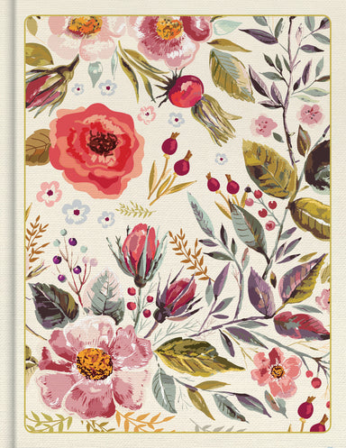 Image of CSB Notetaking Bible, Floral Cloth-Over-Board other
