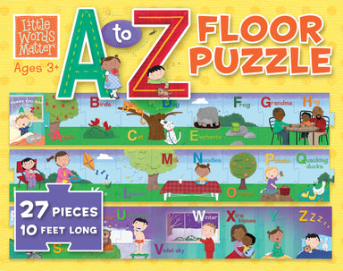 Image of Little Words Matter A to Z Floor Puzzle other