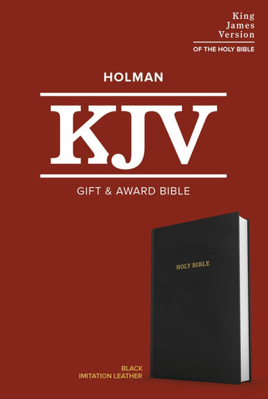 Image of KJV Gift and Award Bible, Black Imitation Leather other