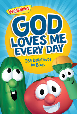 Image of God Loves Me Every Day: 365 Daily Devos for Boys other