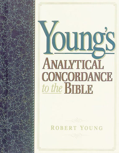Image of Young's Analytical Concordance to the Bible other
