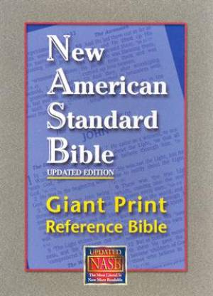 Image of Giant Print Reference Bible other
