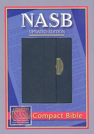Image of NASB Compact Bible Black Bonded Leather other