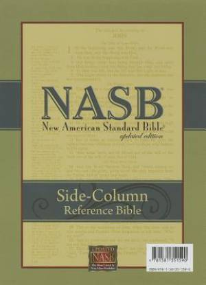 Image of NASB Side-Column Reference Wide Margin Bible, Black other