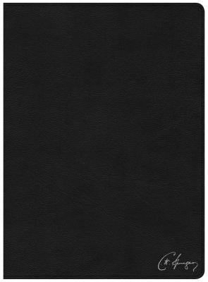 Image of CSB Spurgeon Study Bible, Black Genuine Leather, Indexed other