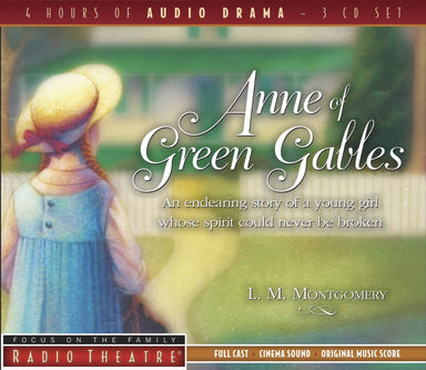 Image of Anne Of Green Gables 3 Cds other