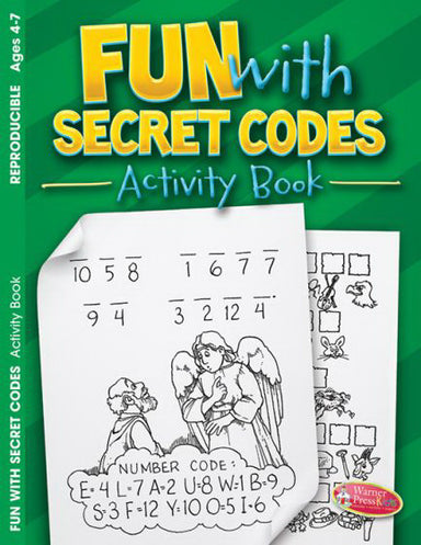 Image of Fun With Secret Codes Activity Book other