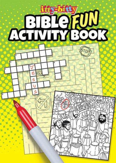 Image of Itty Bitty: Bible Fun Activity Book other