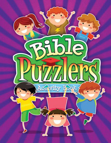 Image of Bible Puzzlers Activity Book other