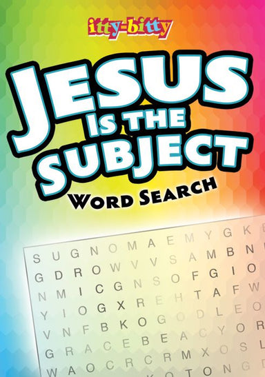 Image of Itty Bitty: Jesus is the Subject Word Search other