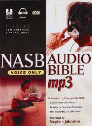 Image of NASB: Audio Bible, Voice Only, MP3 CD plus DVD-Rom other