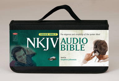 Image of NKJV Audio Bible: Voice Only, CD  other