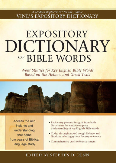 Image of Expository Dictionary Bible Words other