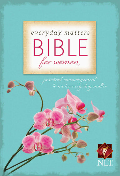 Image of NLT Everyday Matters Bible for Women: Hardback other
