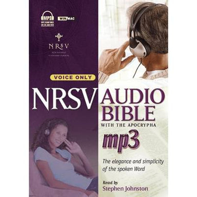 Image of NRSV MP3 Audio Bible with apocrypha other